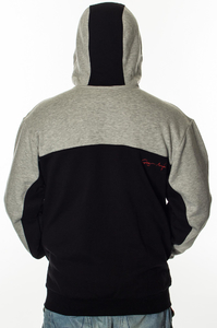 GANJA MAFIA BLUZA KAPTUR GM NAP GREY-BLACK-RED
