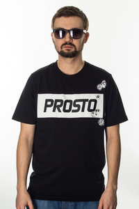 PROSTO T-SHIRT 8 SHOTS BLACK