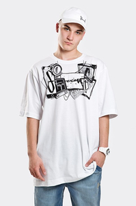 STOPROCENT T-SHIRT TM DEVICETAG LIGHT WHITE