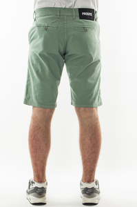 PROSTO SPODENKI CHINO SHORTS ACID GREEN