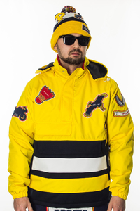 PROSTO KURTKA WINDRUNNER FRESH VISION YELLOW