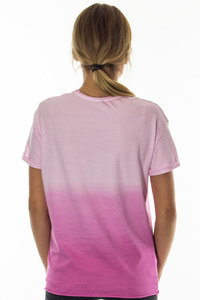 PROSTO T-SHIRT DAMSKI FATTY POWDER PINK