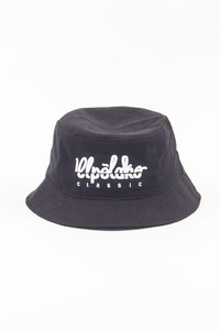 EL POLAKO KAPELUSZ BUCKETHAT CUT LOGO BLACK