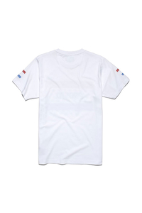 PROSTO P T-SHIRT PLAQUE WHITE