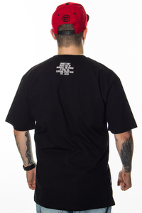 SMOKE STORY GROUP T-SHIRT MORO LINE BLACK