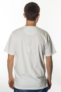 PROSTO T-SHIRT CLOCKWORK SLIDE WHITE