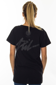 LADY DIIL T-SHIRT TAG BLACK