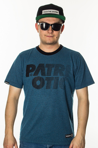 PATRIOTIC T-SHIRT CLS SHADE TURQ