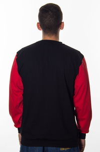 GANG ALBANII LONGSLEEVE BLACK RED