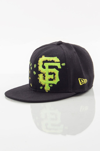 NEW ERA FULLCAP SF BLACK-GREEN