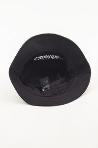 EL POLAKO KAPELUSZ BUCKET HAT HANDWRITTEN BLACK