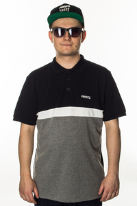 PROSTO KLASYK POLO LIZARD BLACK