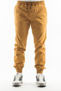 NEW BAD LINE SPODNIE CHINO JOGGER ICON BEIGE