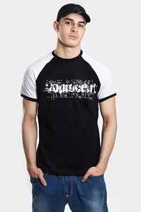 STOPROCENT T-SHIRT TMS ELECTRO BLACK-WHITE