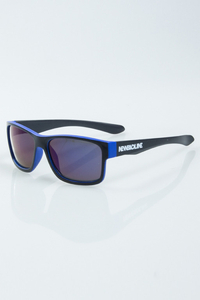 NEW BAD LINE OKULARY SPEED BLACK-BLUE MAT BUE MIRROR 1007