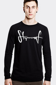 STOPROCENT LONGSLEEVE LS TAG17 BLACK