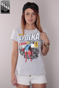 LA POLKA T-SHIRT WONDER GREY