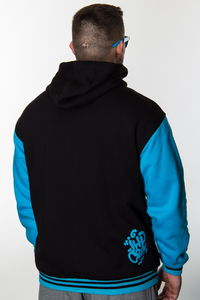 JWP ZIP BLACK-BLUE