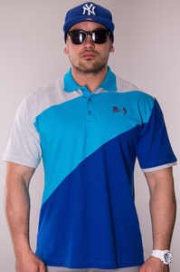 STOPROCENT POLO TAG BLUE
