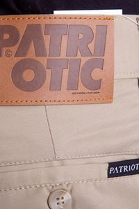 PATRIOTIC CHINO CREAM