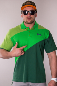 STOPROCENT POLO TAG GREEN