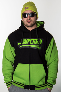 JWP ZIP BLACK-GREEN