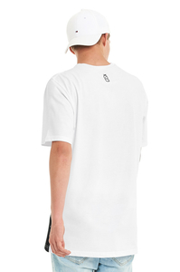 LUCKY DICE T-SHIRT CUT COLOR WHITE