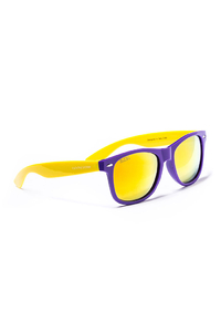 OKULARY BLOCX PURPLE X YELLOW MIRROR GOLD 159
