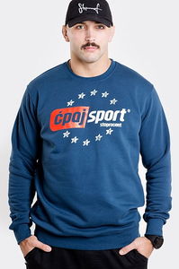 STOPROCENT BLUZA BBK ĆPAJSPORT NAVY BLUE