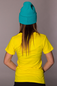 LA POLKA T-SHIRT CHIQUITA YELLOW
