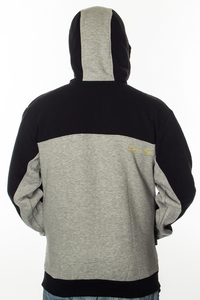 GANJA MAFIA BLUZA KAPTUR GM NAP GREY-BLACK-YELLOW