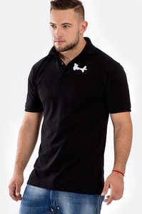 STOPROCENT POLO TAG16 BLACK