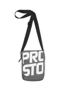 PROSTO KLASYK LISTONOSZKA MEN BAG PURSE CONCRETE GREY