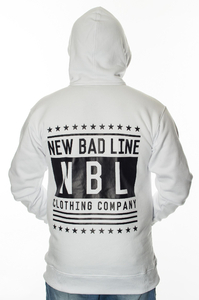 NEW BAD LINE BLUZA Z KAPTUREM SWAG WHITE