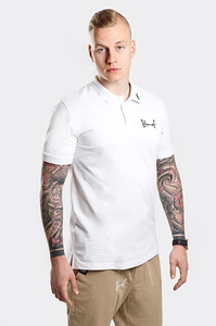 STOPROCENT POLO TAG18 WHITE