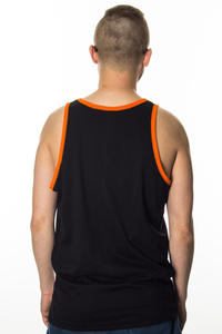 EP TANK TOP CUT LOGO BLACK