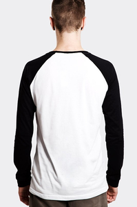 STOPROCENT LONGSLEEVE LS TAG17 WHITE-BLACK