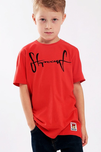 STOPROCENT KIDT T-SHIRT TAG16 RED
