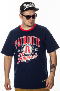 PATRIOTIC T-SHIRT AREOLA NAVY-RED