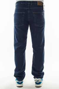 SMOKE STORY GROUP JEANSY SLIM CLASSIC MEDIUM BLUE