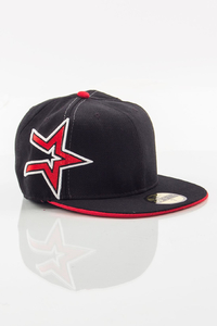NEW ERA FULLCAP BLACK STARS