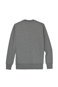 PROSTO P SWEATSHIRT FUCK MEDIUM HEATHER GREY
