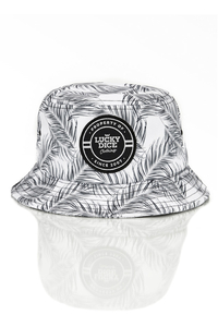 LUCKY DICE BUCKET HAT SUMMER BLACK-LEAVES