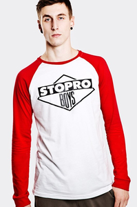 STOPROCENT LONGSLEEVE LS STOPROBOYS WHITE-RED