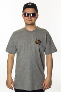 JWP T-SHIRT CROS COLORS GREY
