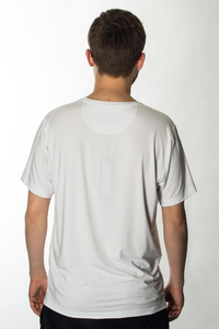 PROSTO T-SHIRT PRO BASIC STEEL WHITE