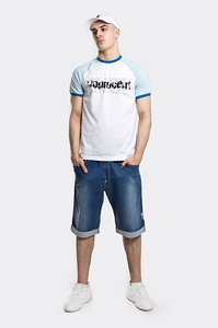 STOPROCENT T-SHIRT TMS ELECTRO WHITE-BLUE