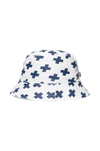PROSTO KLASYK KAPELUSZ BUCKET HAT ADVENTURE WHITE