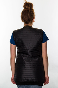 PROSTO VEST FEATHER BLACK