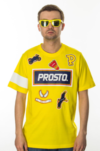 PROSTO T-SHIRT FRESH VISION YELLOW